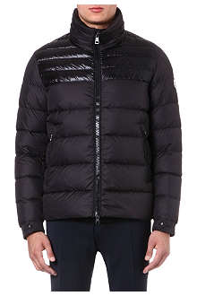 MONCLER Dinant panelled quilted jacket