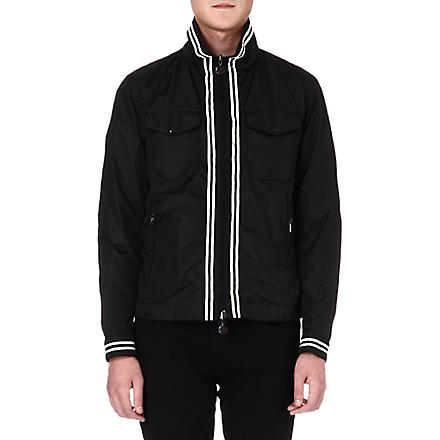 MONCLER Harrington reversible jacket (Black