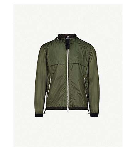MONCLER Alshat hooded shell jacket (Khaki