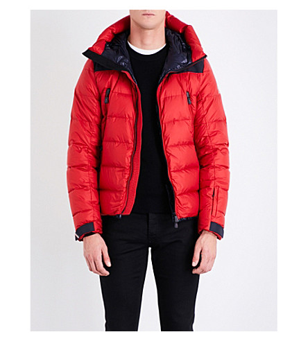 MONCLER GRENOBLE Camurac shell-down jacket (Red