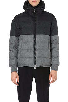 MONCLER Harvey colourblocked quilted jacket