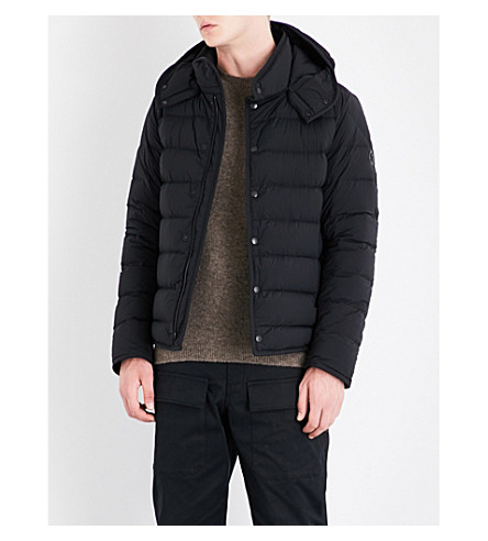 MONCLER Nazaire quilted shell coat (Black