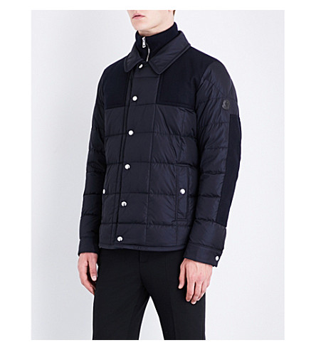 MONCLER Clovis quilted shell jacket (Navy