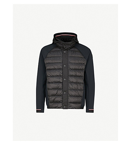 MONCLER Gordon hooded shell-down jacket (Black