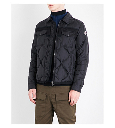 MONCLER Stephan quilted shell jacket (Black