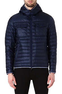 MONCLER Clovis hooded quilted jacket