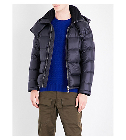 MONCLER Pascal padded shell jacket (Navy