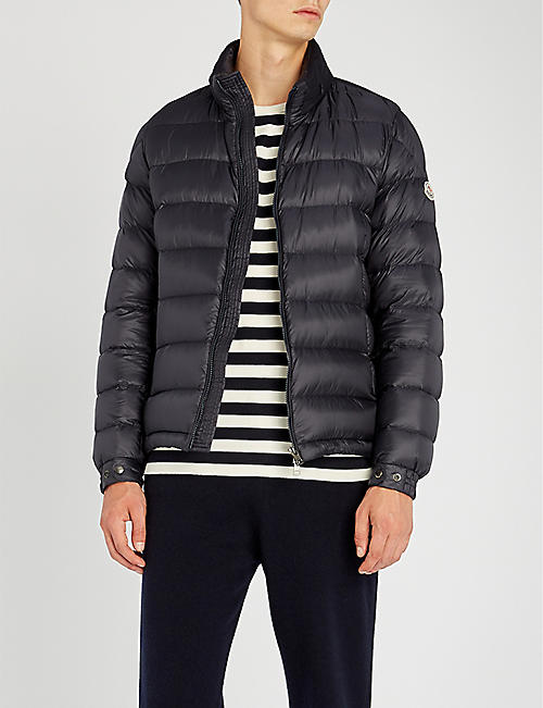 moncler quilted jacket mens
