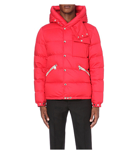 MONCLER Lioran quilted cotton shell jacket (Red