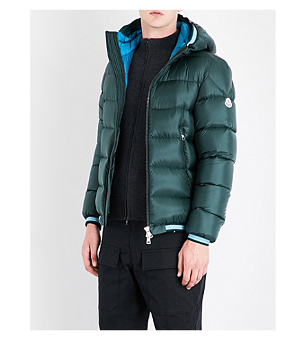 MONCLER Jeanbart quilted shell jacket (Green
