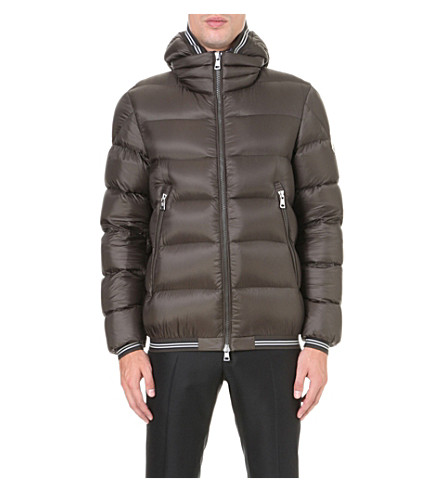 MONCLER Jeanbart quilted shell jacket (Military