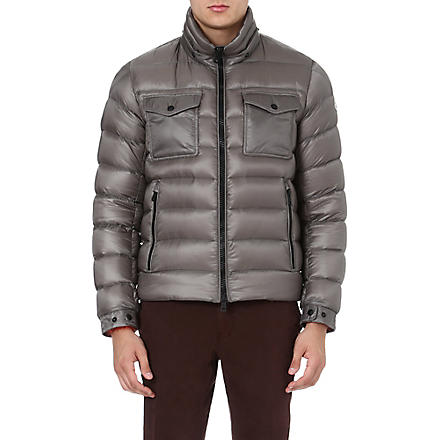 MONCLER Edward quilted hooded jacket (Grey