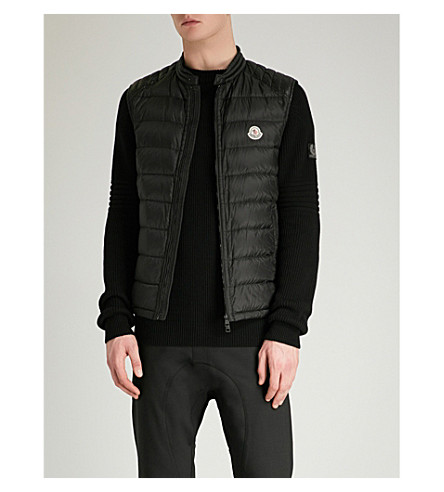 MONCLER Arves quilted shell-down gilet (Black