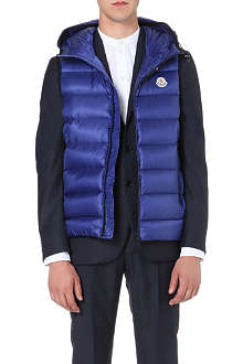 MONCLER Ray hooded quilted gilet