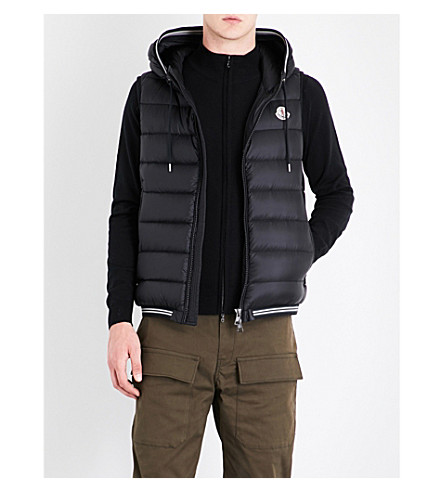 ... MONCLER Amiens quilted shell vest (Black. PreviousNext