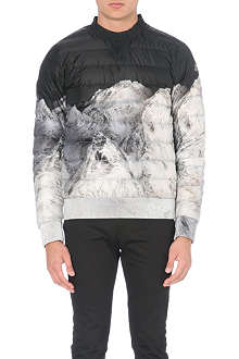 MONCLER Mountain-print sweater