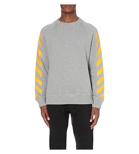 moncler white sweatshirt