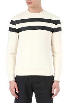 MONCLER Striped jersey jumper
