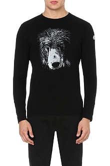 MONCLER Bear-print top