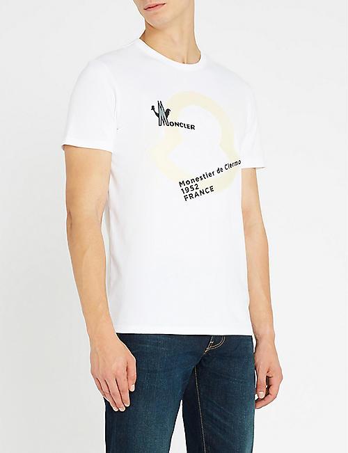 MONCLER Logo-print cotton-jersey T-shirt