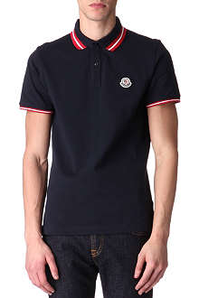 MONCLER Twin-tipped polo shirt