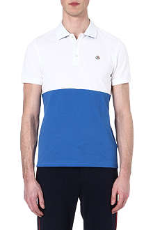 MONCLER Bi-colour polo shirt