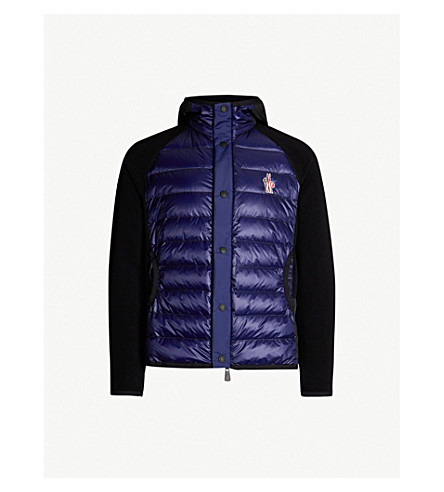 ae2257047 MONCLER GRENOBLE - Hooded shell-down and fleece jacket