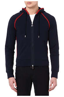 MONCLER Ribbed cotton hoody