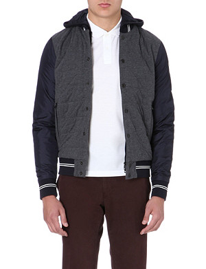 MONCLER Quilted jersey jacket