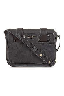 RAG & BONE Black mini pilot bag