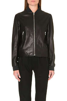 RAG & BONE Skidpan leather bomber jacket