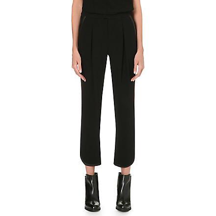 RAG & BONE Platini crepe trousers (Black