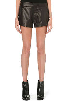 RAG & BONE Nesi high-rise leather shorts