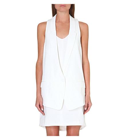 RAG & BONE Ines waistcoat (White