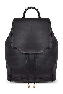 RAG & BONE Leather pilot backpack