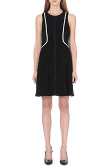RAG & BONE Andrea zip-fastened crepe dress