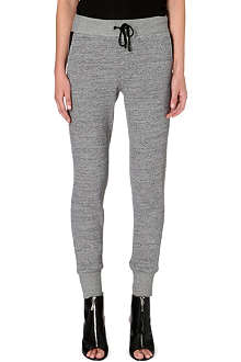 RAG & BONE Panelled jersey jogging bottoms