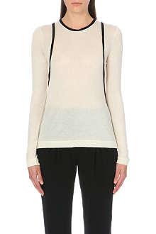 RAG & BONE Adela long-sleeved knitted top