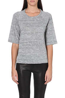 RAG & BONE Kenna flecked-finish t-shirt