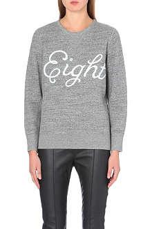 RAG & BONE Eight cotton-jersey sweatshirt