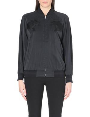 RAG & BONE Akita silk reversible bomber jacket