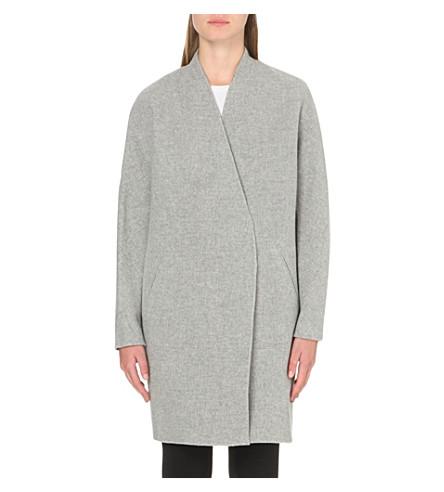 RAG & BONE Singer wool coat (Lt+grey