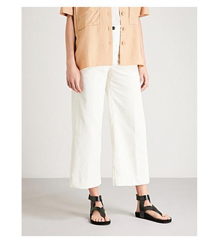 RAG & BONE Lari cord trousers (White