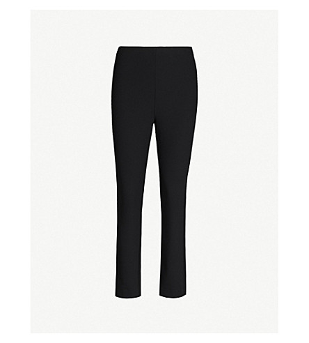 RAG & BONE Simone skinny stretch-cotton trousers (Black