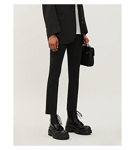 RAG & BONE Simone skinny stretch-cotton trousers (Black
