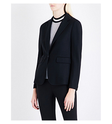 RAG & BONE Club single-breasted wool blazer (Black