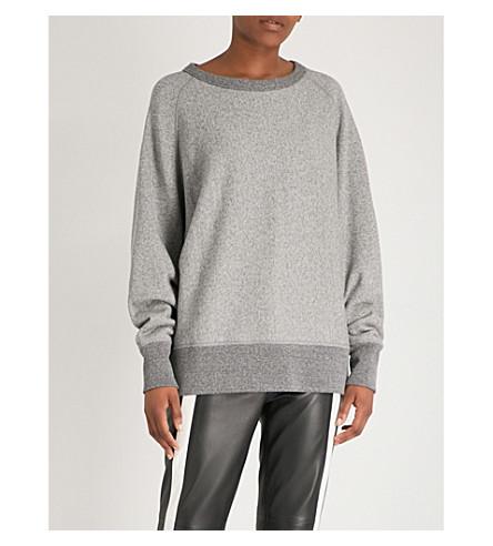 RAG & BONE运动棉衫球衣 (石楠 + 灰色