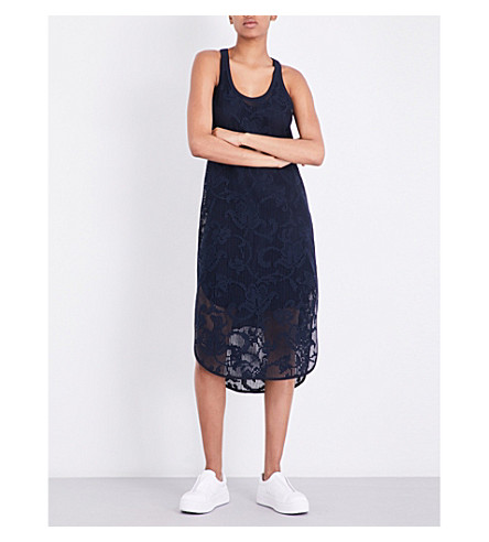 RAG & BONE Stella sleeveless cotton-blend dress (Salute