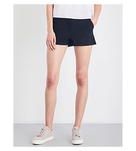 RAG & BONE Carson high-rise cotton-blend shorts (Black