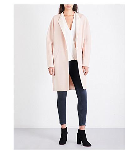 RAG & BONE Darwen reversible wool and cashmere-blend coat (Dusty+rose